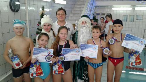 Соревнования на призы Деда Мороза